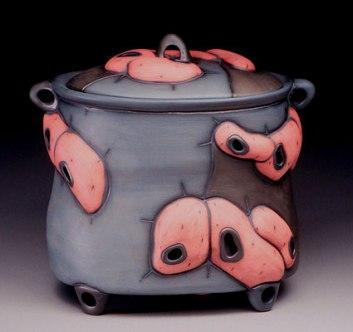 terra sigillata, cone 6 porcelain