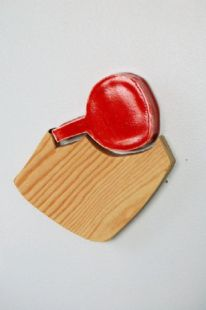 "ceramic, plywood, magnets, 4"" x 5"", 2010"
