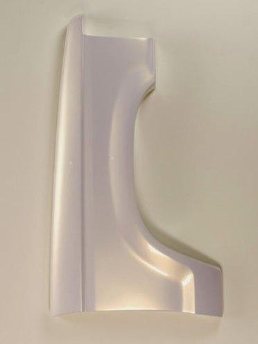 """reinforced ceramic, automotive paint, 38"""" x 31"""" x 9"""", 2008"""