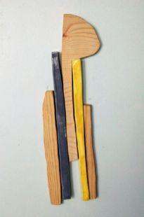 "ceramic, plywood, magnets, 18"" x 7"" 2010"