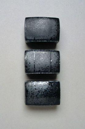 """11""""h. x 4""""w. x 2.5""""d."""", soda fired stoneware"""