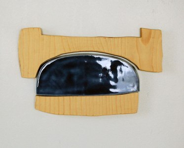 "ceramic, plywood, magnets, 8"" x 6"", 2010"