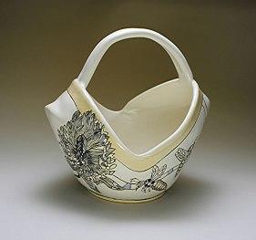 "Ann Ruel, ""Bees in a Basket"""