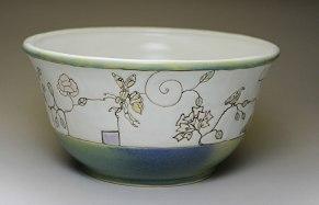 """Ann Ruel, """"Contemporary Fruit Bowl"""""""