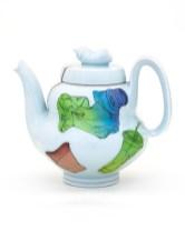 """2019, 8.5"""" x 6.5"""" x 9"""", porcelain, china paint"""