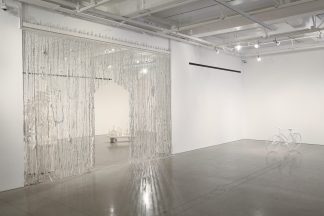 Installation view from my 2016 graduate thesis exhibition from UCLA.