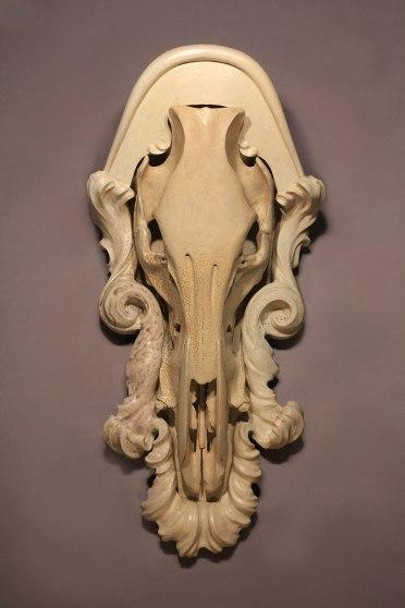 wood-fired stoneware, 81 x 40 x 31 cm