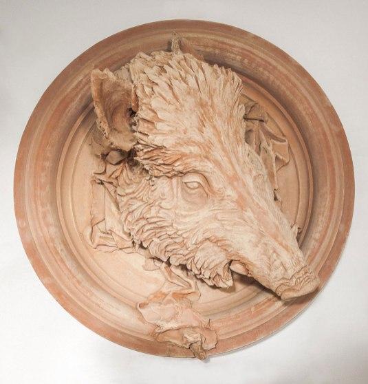 terracotta, 80 x 43 cm