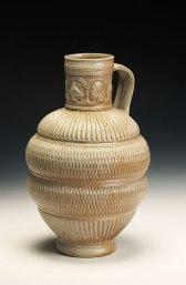 wood-fired stoneware, 34 x 24 cm