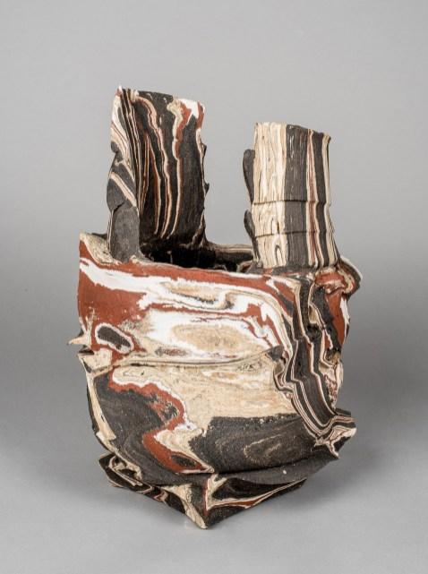 2017, 38cm height/30cm width/27cm depth. Stoneware and porcelain.