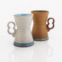 """Eric Van Eimeren, """"Hourglass mugs"""""""