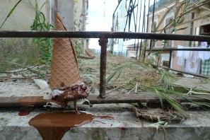 Permanent Installation in Vizzini, Sicilia, Italia, Ceramic, glaze, acrylic, 2015