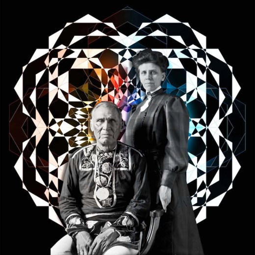 "Gina Adams, ""Ancestor Medallion"""