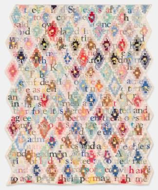 "Gina Adams, ""Ancestor Beadwork Prisms"""