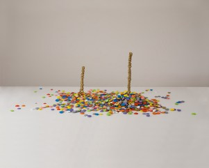 60 x 50 x 25 cm, stoneware, acrylics, 2017