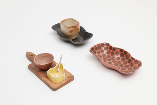 """from """"Pick Mix / All Sorts Collection"""", Slip cast porcelain, various firings and temps: cone 6, 8 oxidation, cone 11 wood, 2013-2014"""