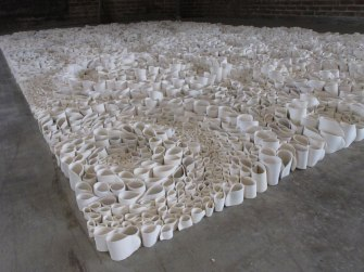 2015, 10' x 15', Porcelain Installation