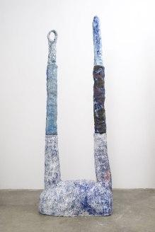 ceramic, 98 x 38 x 21.5 inches, 2015