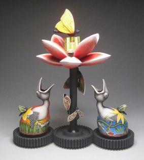 "porcelain, underglaze and china paint, 24"" x 20"" x 12"", 2012"