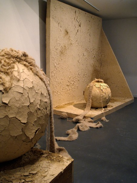 2008, Installation with live activity and soundscape