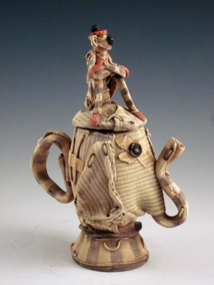 "Earthenware, 18""H x 8""W x 7""D, 2011"