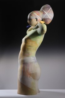 """46""""x31""""x""""16, Stoneware with slips and glazes"""