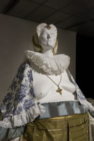Porcelain, terra cotta, toile, silk, cottonPhoto credit: Morgan Stephenson