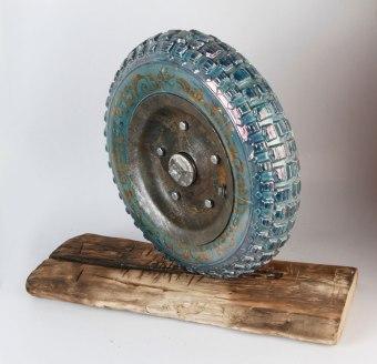 60 x 30 x 60, ceramic, metal, wood, 2016