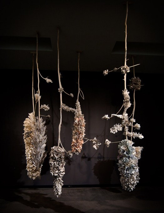 "Rebecca Hutchinson, ""Night Bloom"", Racine Museum Installation"