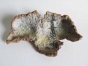 """Ravit Lazer, """"Human Remains / Road 443"""""""