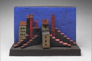 Display on pedestal or hang on wall