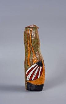 clay glazed, 37x10x11cm, 20