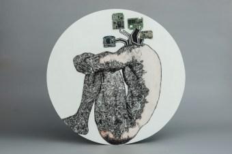 50X50 Cm,Porcelain tile, Ceramic painting, 2017