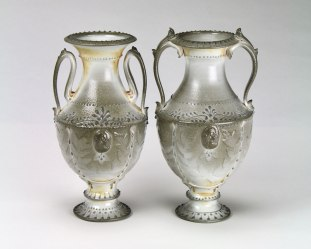 "Mike Stumbras, ""Urn Pair"""