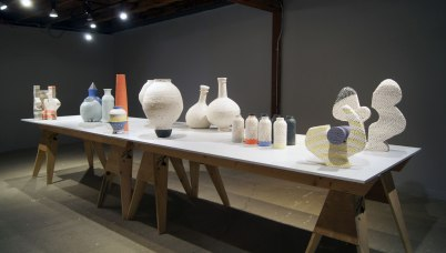 The Archie Bray Foundation, 1st fellowship exhibition view, 2018
