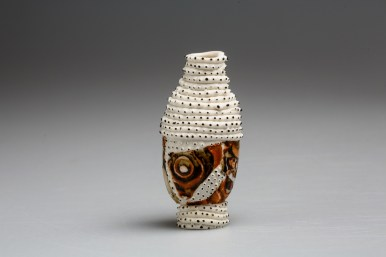 2018, Porcelain, clay from Monaro Plains, New South Wales, Australia, H95 x W45 x D45 mm