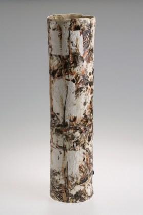 2015, Porcelain, clay from Barragga Bay, Far South Coast, Australia, H550 x W140 x D140 mm