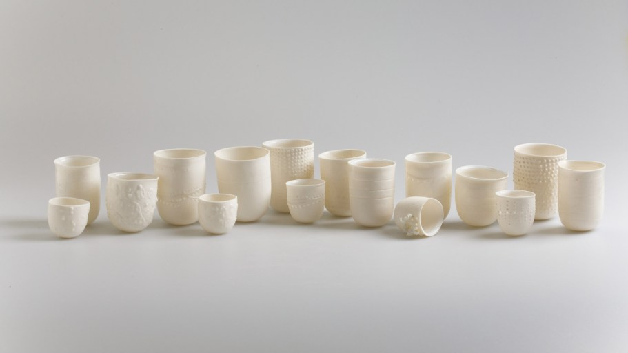2016, Porcelain, Dimensions from H40 X W40 x D40 mm to H75 x W60 x D60 mm