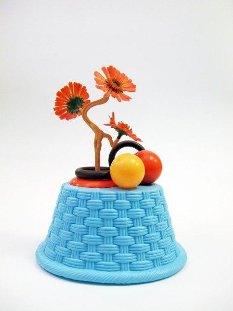 """2011, Ceramic, found materials, 9"""" x 7"""" x 5"""""""