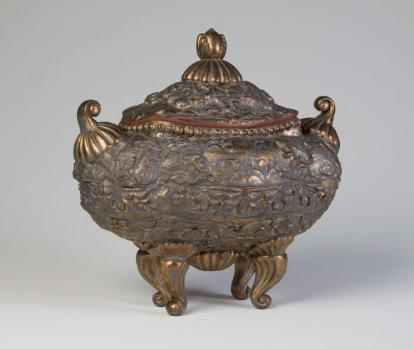 "Tureen, 15"" x 15"" x 9"". Ceramic and Glaze. 2010."