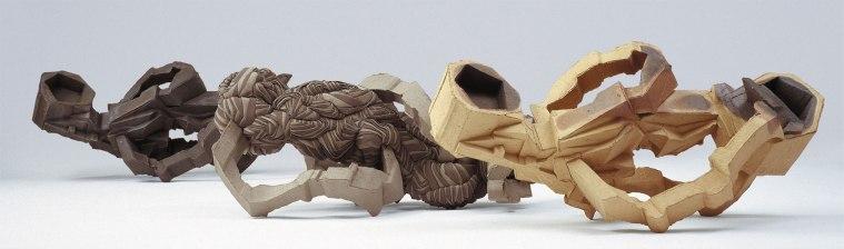 ceramics, 3* ( 90 x 40 x 40 cm ), 2008