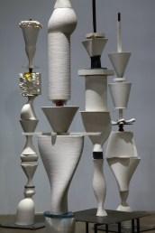 2017, installation variable, 3d printed porcelain, digital glass prints, glass, copper, steel