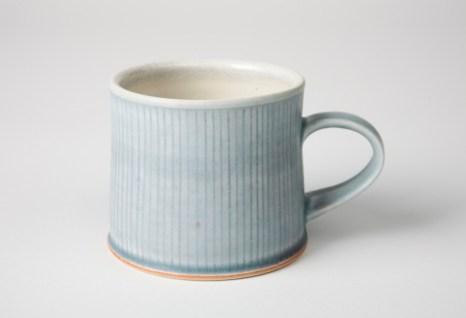 "cone 9 reduction porcelain, 3"" W x 3.5"" H"
