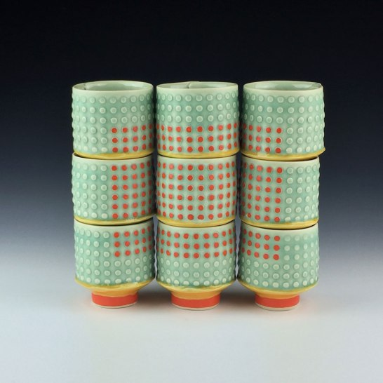 white stoneware, cone 6 oxidation, 9x9x3