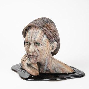 Ceramic, acrylic, 26cm x 36.5cm x 23.5cm, 2017