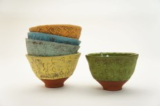 "Sunshine Cobb, ""Textured Bowls"""