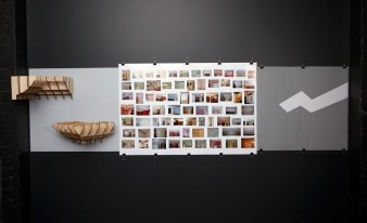 "24""x84""x12"", laser cut plywood, Google search photo, vellum, vinyl, photo: Ken Yanoviak"