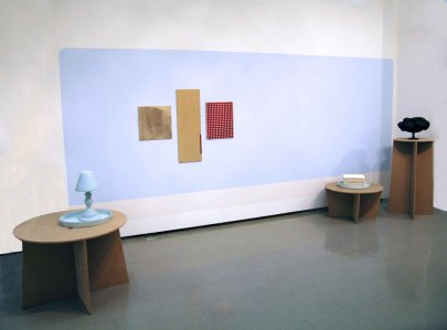 "90"" X 192"" X 72"" overall, ceramic, MDF, paint, manipulated commercial tile, 2010"