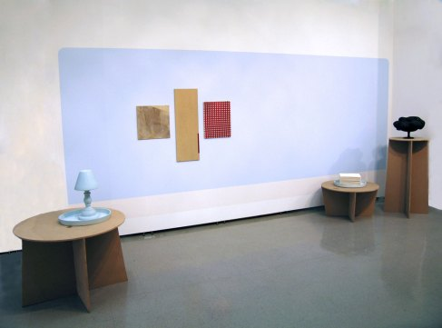 """90"""" X 192"""" X 72"""" overall, ceramic, MDF, paint, manipulated commercial tile, 2010"""