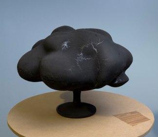 """57"""" X 21"""" X 21"""", ceramic, MDF, 2010"""